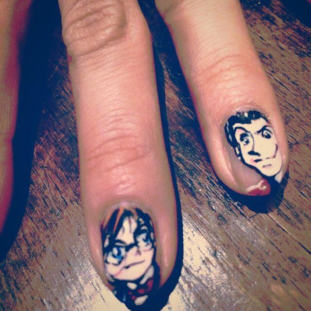 13 best My Otaku nail art images on Pinterest | Nail art, Nail art ...