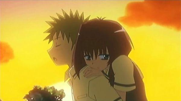 Karin and Kenta = True love is embarrassing!