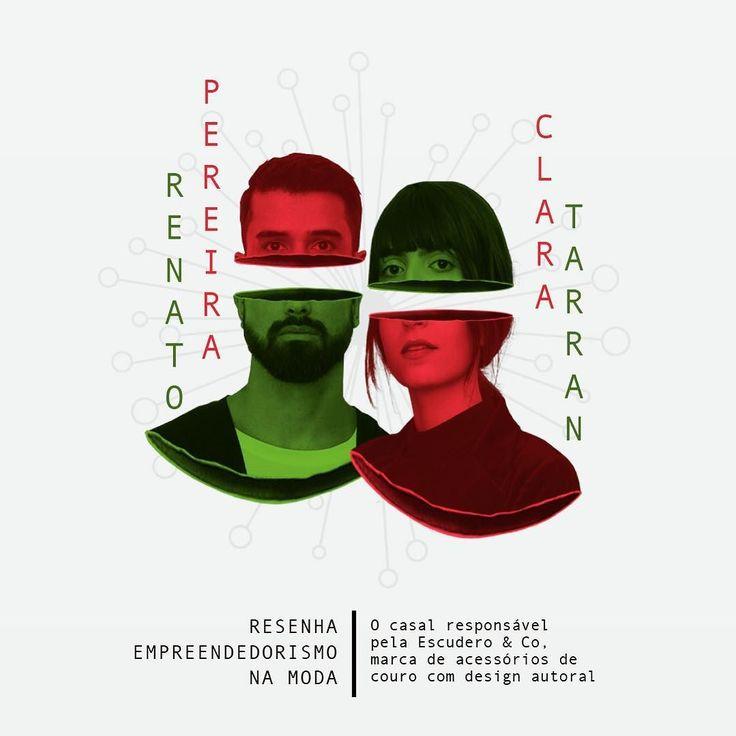 AMANHÃ: @renato_pereira_ e @claratarran fundadores da Escudero & Co estarão no SENAC MODA INFORMAÇÃO participando da Resenha Empreendedorismo na Moda em bate papo com @helenrodel mediado por @robertomeirelespinheiro do @institutoriomoda. O evento acontece na @casanaturamusical em Pinheiros São Paulo & as inscrições seguem abertas online até amanhã.
