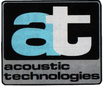 #ATProfessional - Acoustic Technologies first logo. AT's logos appear as badges on their products. If you see this one, you have a vintage Rig! #logos #pasystems