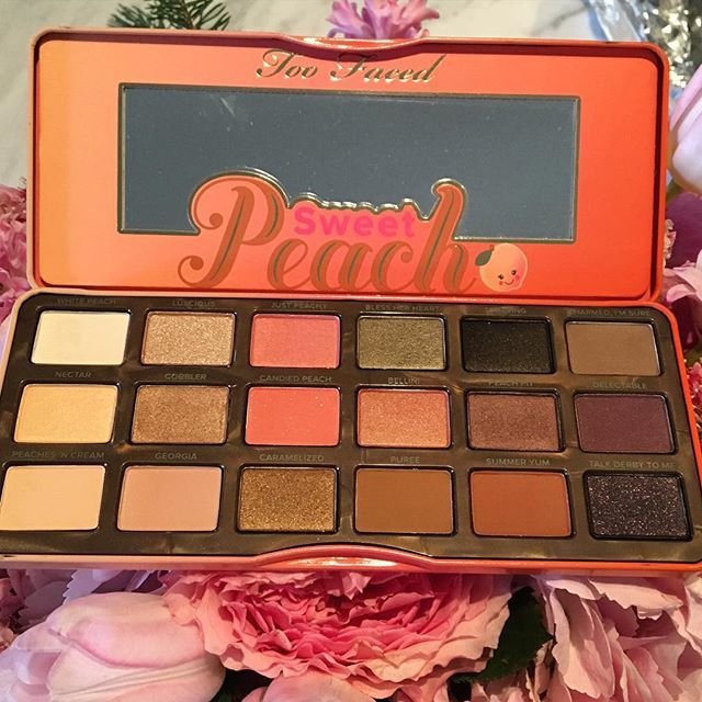 Too Faced Sweet Peach palette for Summer 2016 I can't wait to add this to my collection