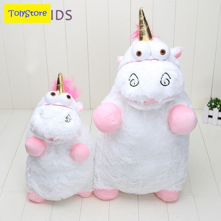 Minion Toy Unicorn Plush Toy Licorne Fluffy Juguetes Despicable Me2 Thinkway Lot #EASYKIDS