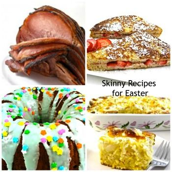 Skinny Kitchen's Easter Recipe Round-Up 2014! I'm sharing some of my favorite skinny recipes for making a bunch, lunch or dinner. You can mix and match to create your own delicious skinny menu. And, I'm including several delectable, skinny desserts! http://www.skinnykitchen.com/recipes/skinny-kitchens-easter-recipe-round-up-2014/