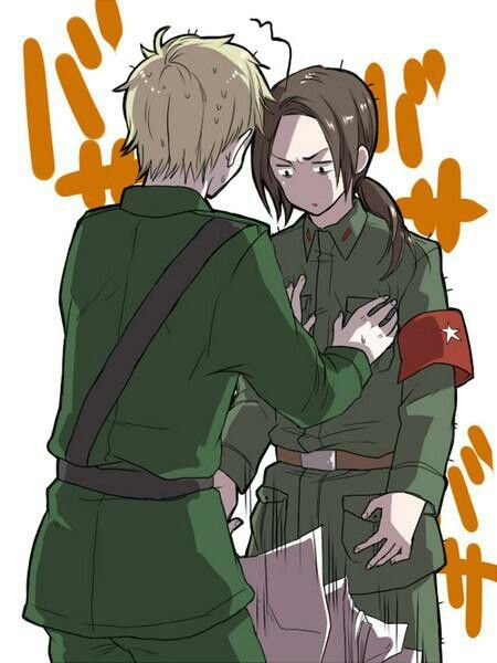 China: For how many times I have to tell you, I AM NOT A GIRL ARU!!!!<< I'm laughing harder than I should