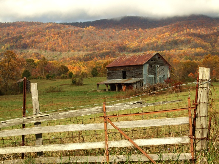 Barn In The Blue Ridge Mountains Photography Pinterest
