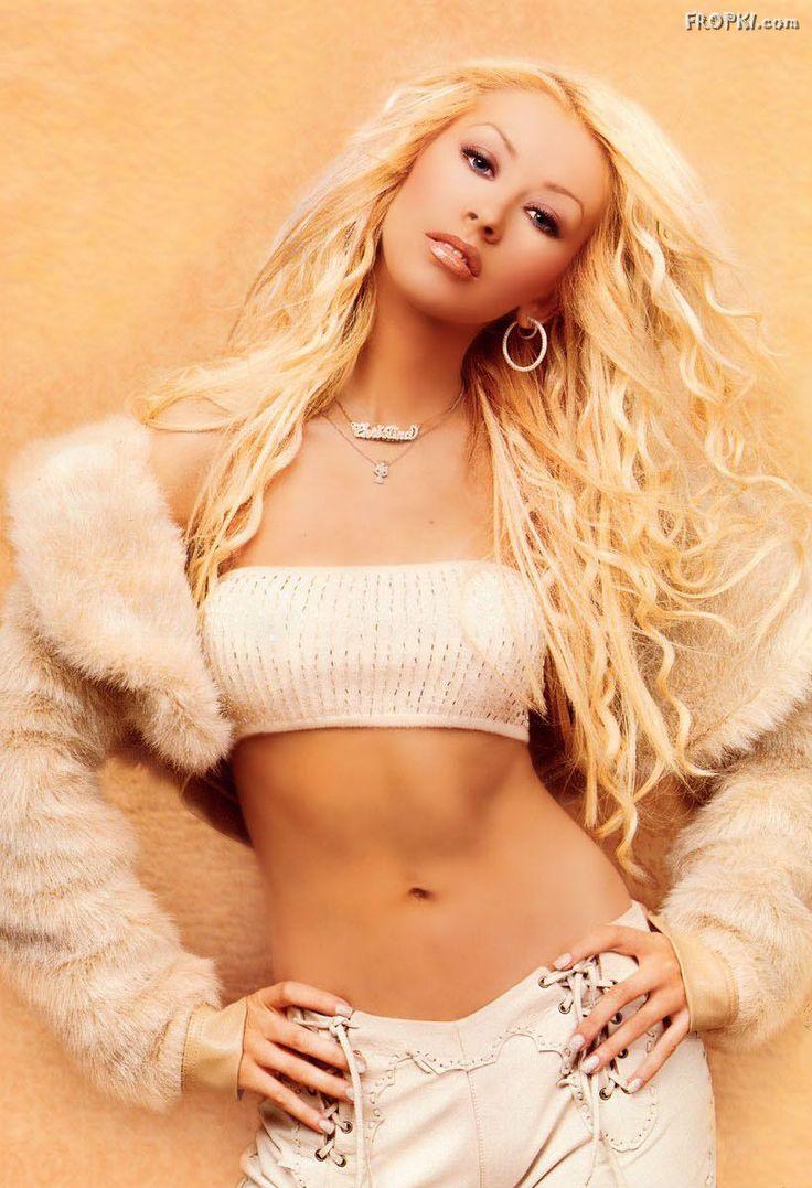 Christina Aguilera - Muscular Abs Compilation