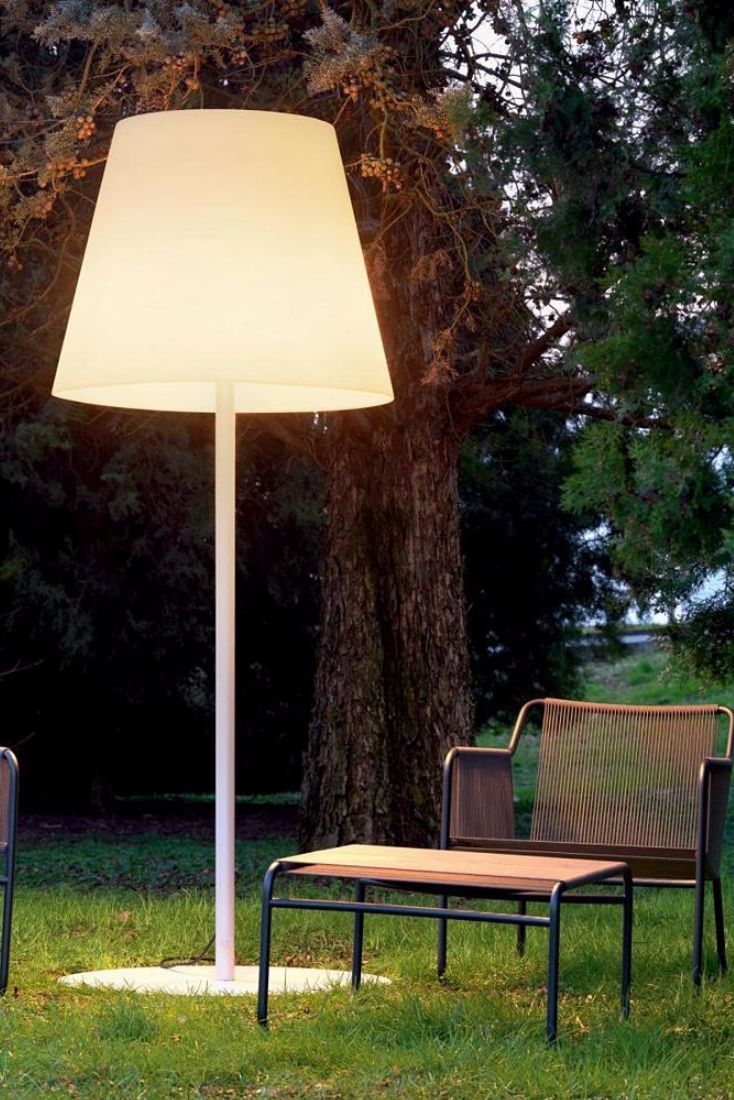Outdoor floor lamp by evergreen - Amax Outdoor Floor Lamp