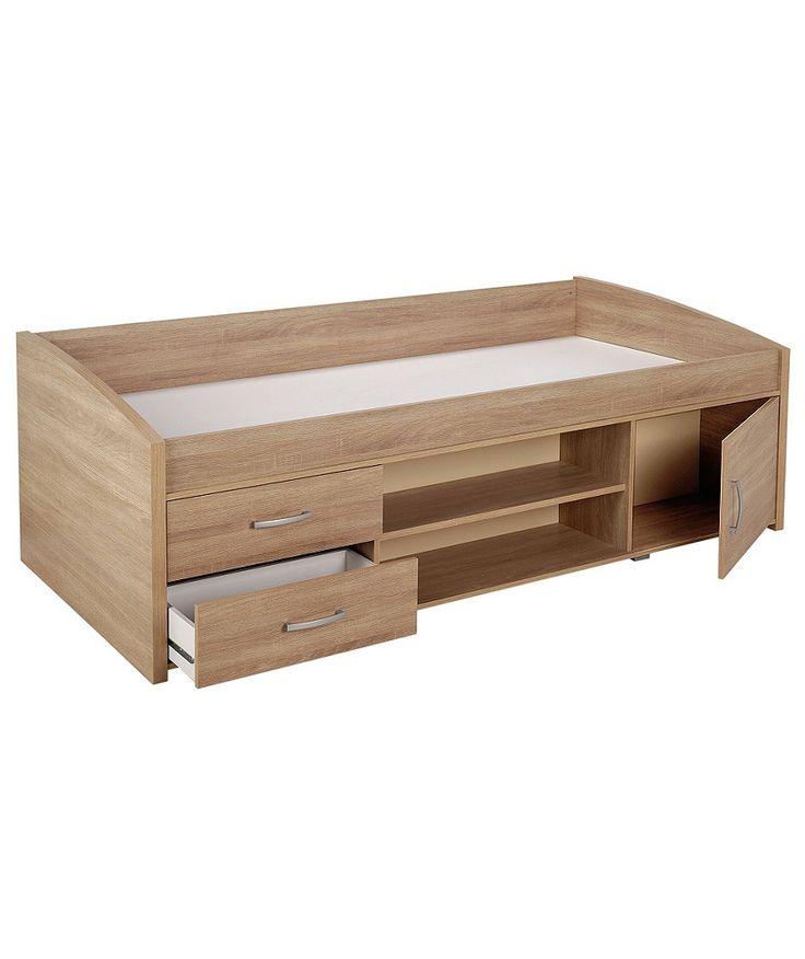 Buy Yanniek Cabin Bed Frame - Oak at Argos.co.uk - Your Online Shop for Children's beds, Children's beds.