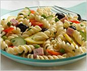 Dreamfields Pasta's Potluck Pasta Salad. Enter the pasta salad contest for a chance to win a case of Dreamfields pasta: http://on.fb.me/LuQURd