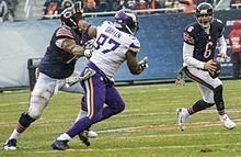 Defensive End-Logan's position on defense! (Just like my man JJ Watt!!)