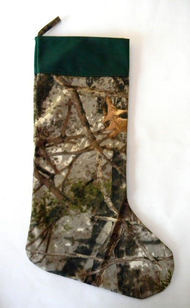 Cabela's Camouflage Mossy Oak Christmas Stocking 16 in ...