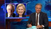 """The problem here isn't that Bernie Sanders is a crazy-pants cuckoo bird. It's that we've all become so accustomed to stage-managed, focus group-driven candidates that authenticity comes across as lunacy""  / Democalypse 2016 - Bernie Sanders Kicks Off His Presidential Campaign .. [.WATCH SHOW.] -- Jon Stewart .. The Daily Show 