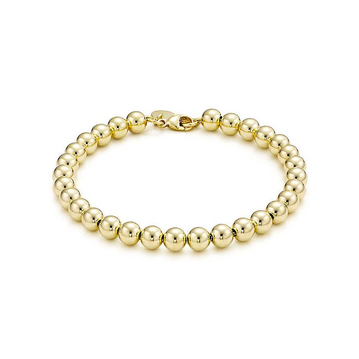 Tiffany Beads bracelet in 18k gold. | Tiffany & Co.