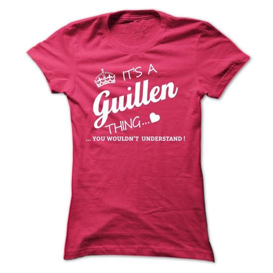 Its A GUILLEN Thing #name #beginG #holiday #gift #ideas #Popular #Everything #Videos #Shop #Animals #pets #Architecture #Art #Cars #motorcycles #Celebrities #DIY #crafts #Design #Education #Entertainment #Food #drink #Gardening #Geek #Hair #beauty #Health #fitness #History #Holidays #events #Home decor #Humor #Illustrations #posters #Kids #parenting #Men #Outdoors #Photography #Products #Quotes #Science #nature #Sports #Tattoos #Technology #Travel #Weddings #Women