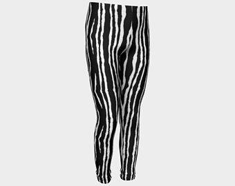 Zèbre, Jambières, pantalons, Leggings enfants, imprimés Leggings, pantalons enfant, leggings, jambières fillette, leggings fillette, legging