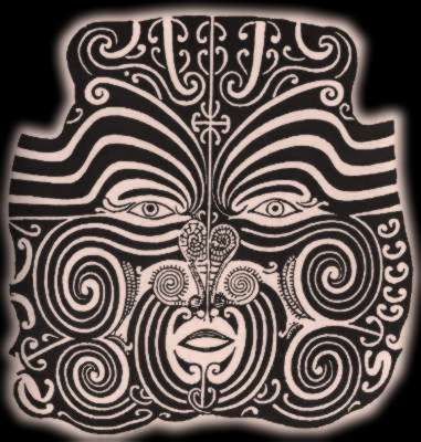 Image result for tribal facial tattoo