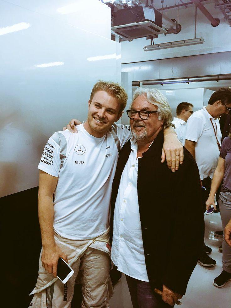 Champions... Nico and Keke Rosberg