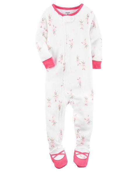 1-Piece Snug Fit Cotton PJs