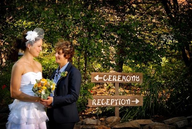 Lesbian wedding, Jason Kaczorowski Photography