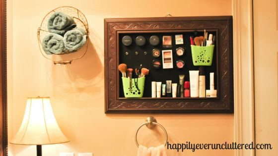 I love all things organized and with this Magnetic Makeup Board, my mornings run much more smoothly.