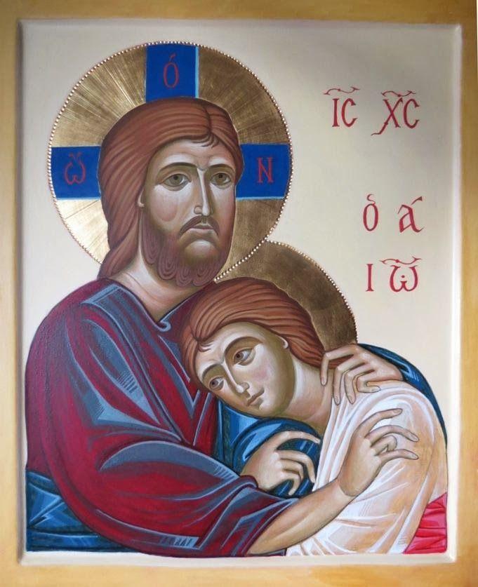 Icona Gesù e Giovanni
