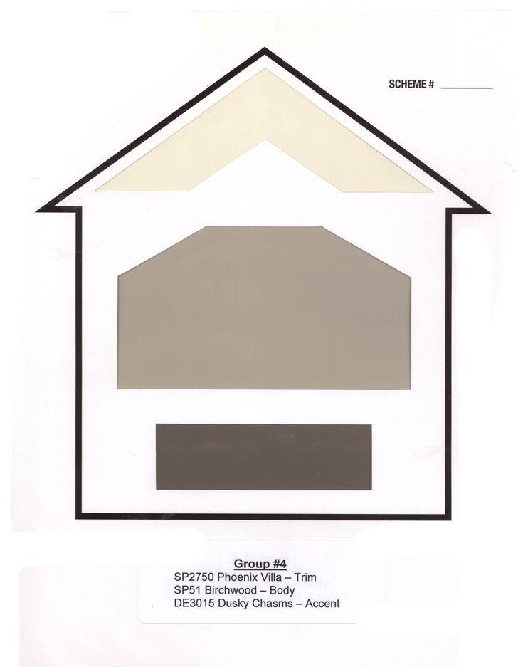 17 best exterior house color ideas images on pinterest. Black Bedroom Furniture Sets. Home Design Ideas