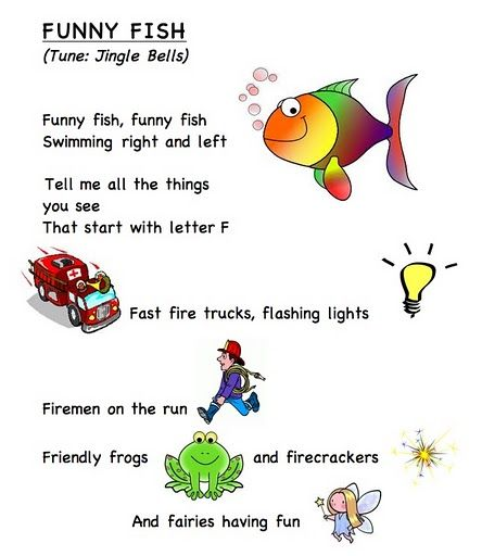 Letter song f jolly phonics pinterest words frogs for Funny fishing songs