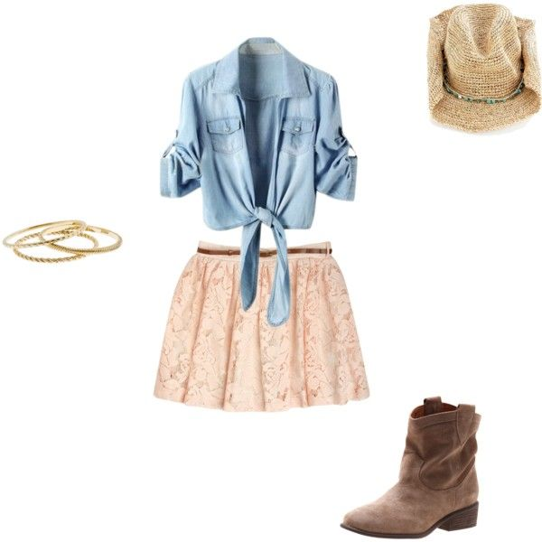"""Counrty Girl"" by thelala on Polyvore"