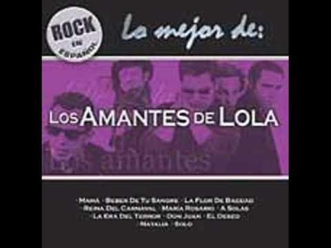 """Los Amantes De Lola """"De Beber Tu Sangre"""" La mejor canción de Los Amantes de Lola... Sin duda."""