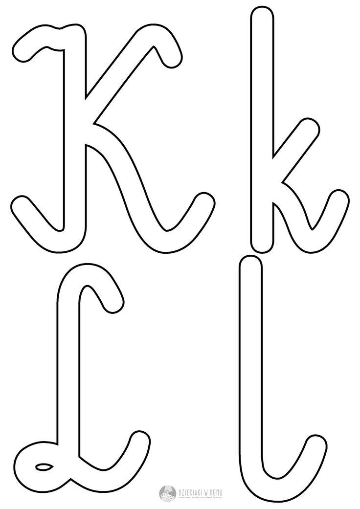 szalon liter K k L l
