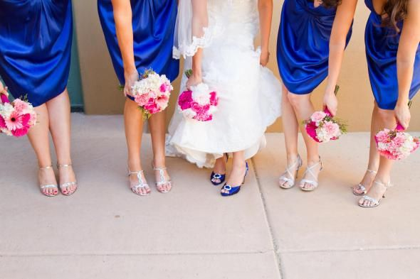 cobalt blue and pink wedding wedding pinterest cobalt blue wedding and colored shoes