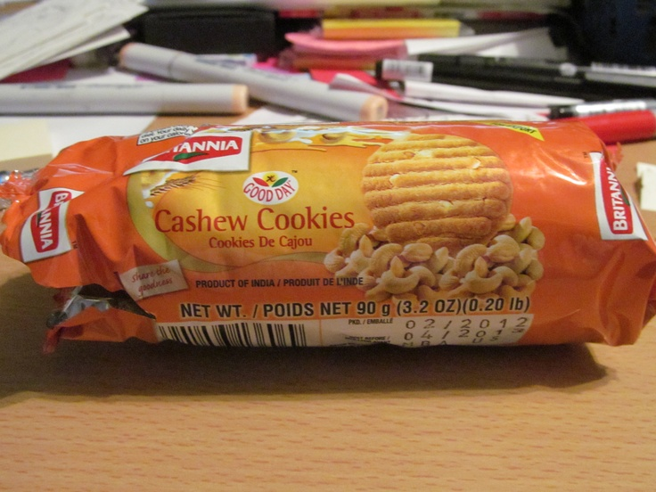 cashew cookies bought at the Indian supermarket: Cookies Bought, Cashew Cookies, Indian Supermarket