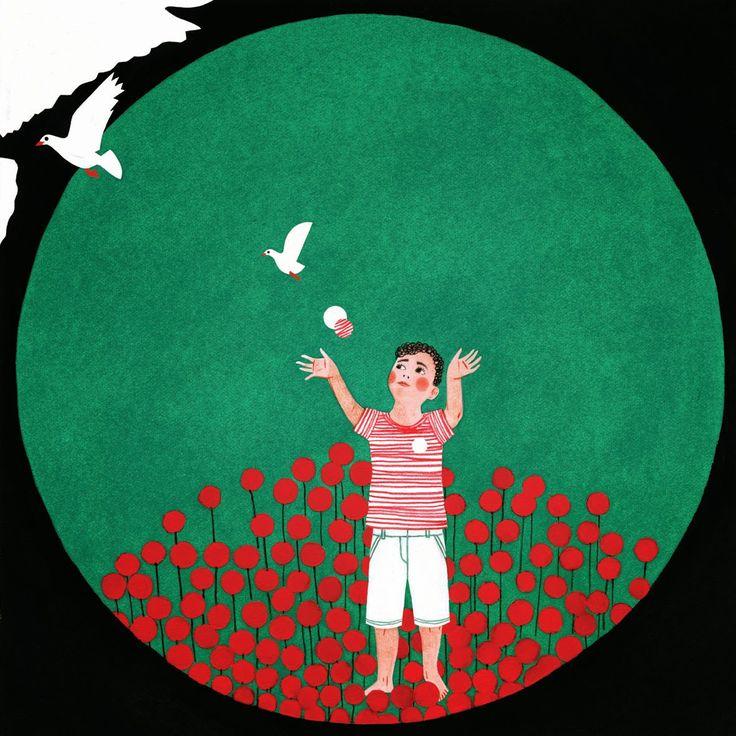 """""""Una Vita Immaginata"""" il mio contributo a sostegno del progetto per i bambini di Gaza del Tamer Institute for Community Education (organizzazione educativa non governativa) http://www.tamerinst.org/ .Trovate le informazioni sul progetto qui:  http://unavitaimmaginata.blogspot.it/"""