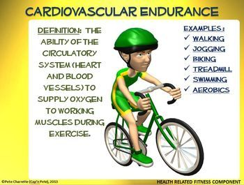 a definition of cardiovascular endurance Cardiovascular definition is - of, relating to, or involving the heart and blood vessels how to use cardiovascular in a sentence of, relating to, or involving the.