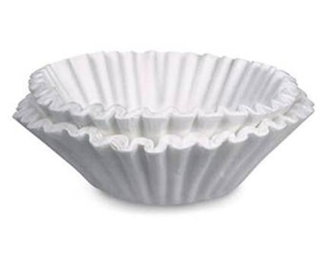 Can use them in the bottom of plant pots to keep dirt in but drain water.    1. Cover bowls or dishes when cooking in the microwave. Coffee filters make excellent covers.   2. Clean windows, mirrors, and chrome...  Coffee filters are lint-free so they'll leave windows sparkling.  3.  Protect China by separating your good dishes with a coffee filter between each dish.  4.  Filter broken cork from wine.  If you break the cork when opening a wine bottle, filter the wine...