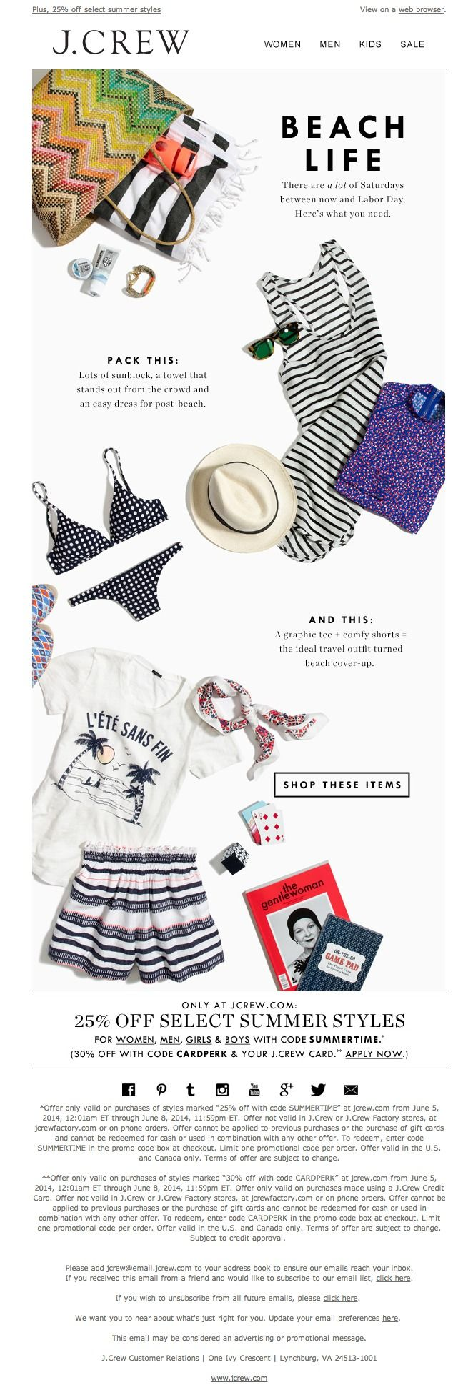 95 best w o r k images on pinterest editorial design graph design newsletter jew 062014 17 things for your beach bag fandeluxe Gallery