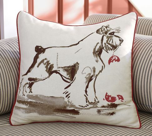 Barkley Pillow Cover | Pottery Barn Love it! Look's just like our boy!!!!