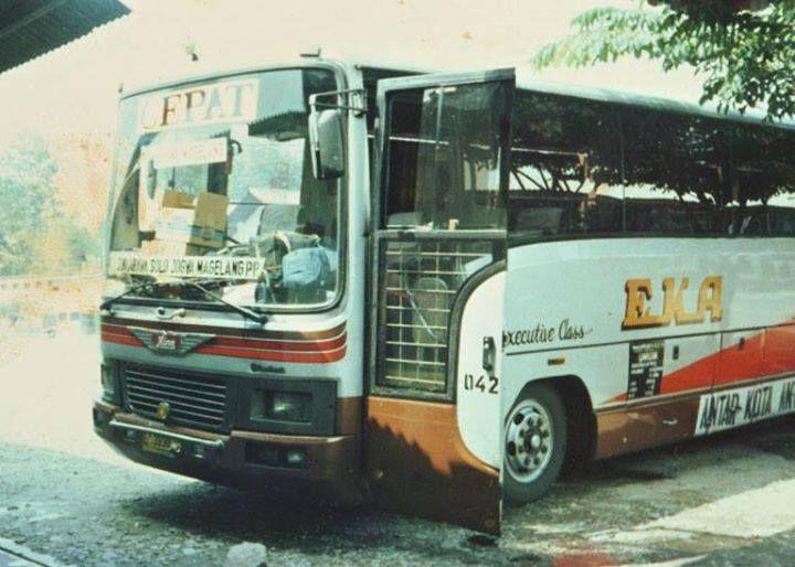 bus eka jadul klasik buslovers Gambar Bus Eka Patas