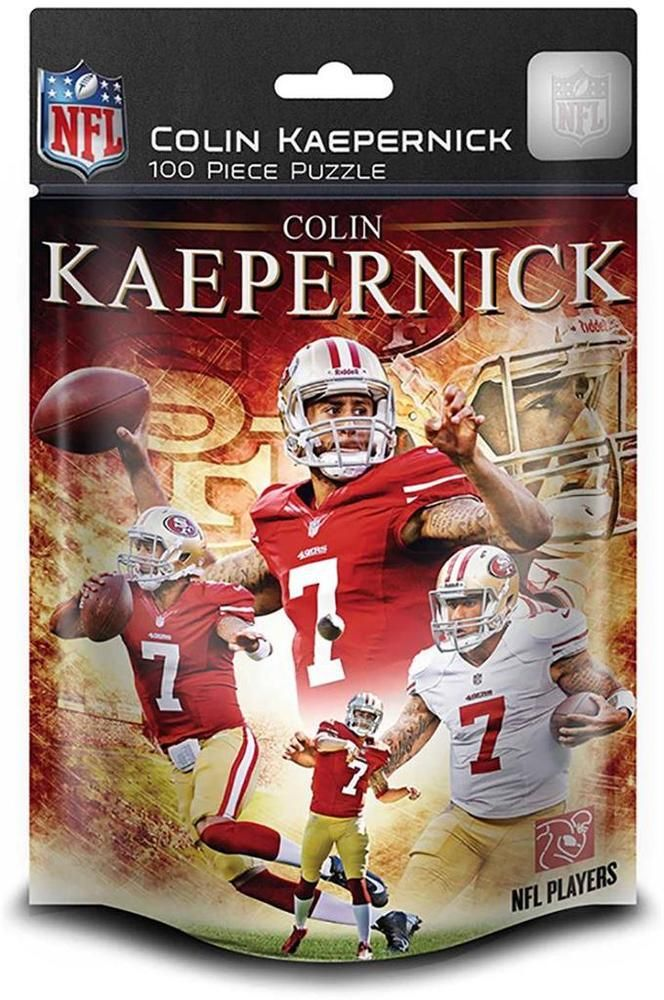 NEW Jigsaw Puzzle 100 Piece NFL San Francisco 49ers COLIN KAEPERNICK Age 6+ #MasterPieces