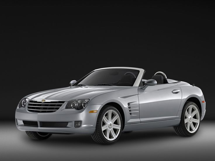 2005 Chrysler Crossfire Roadster - Side Angle