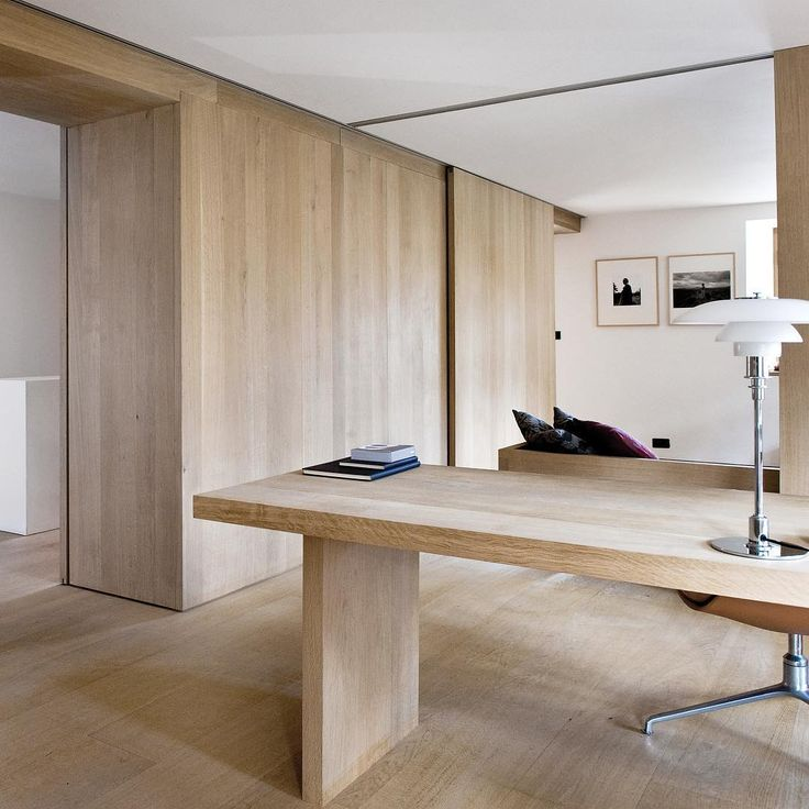Wide plank flooring and wall cladding - Oak by Dinesen