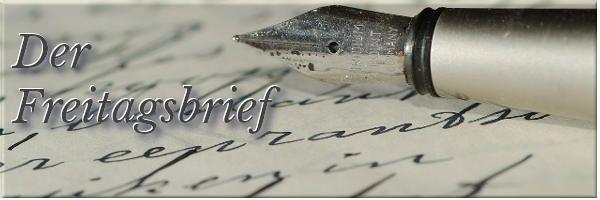 Der Freitagsbrief – KW 41/16