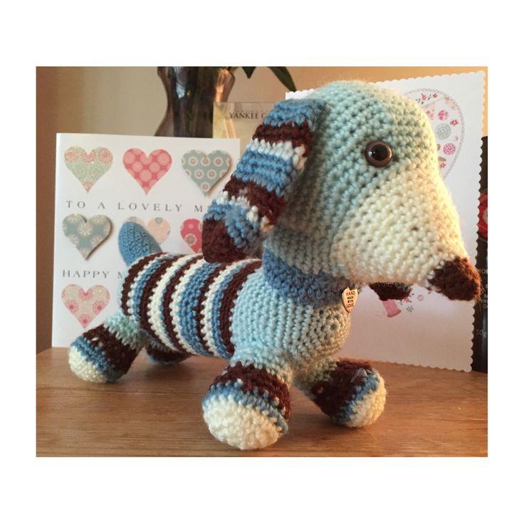 Amigurumi Dog from knitting and crochet magazine