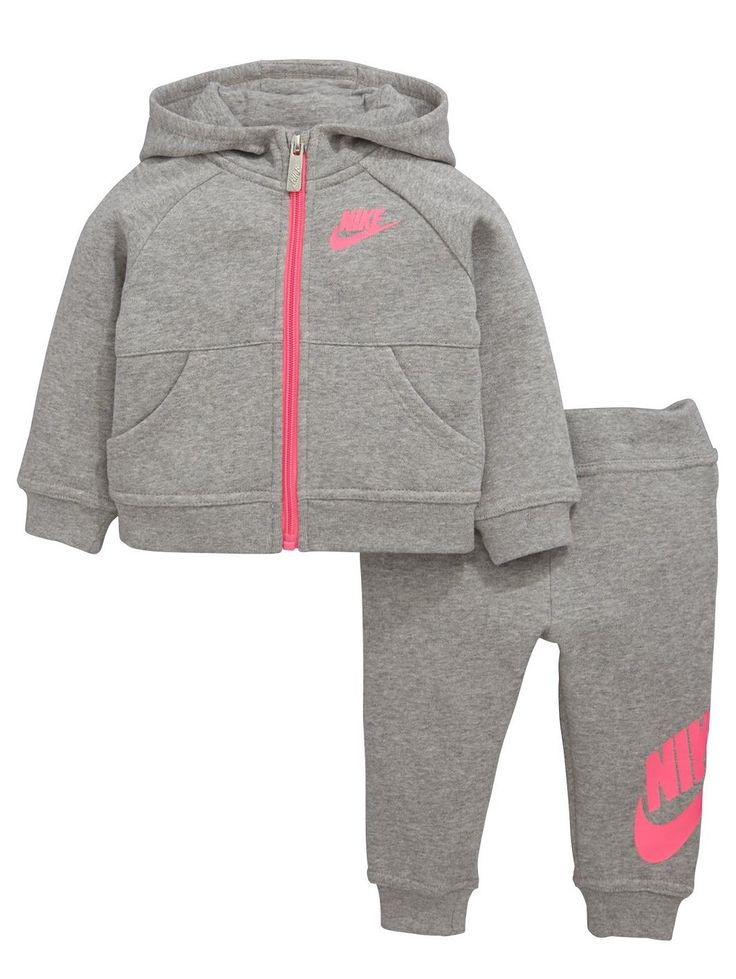 Nike BABY GIRLS FUTURA TRACKSUIT, www.littlewoods.c...