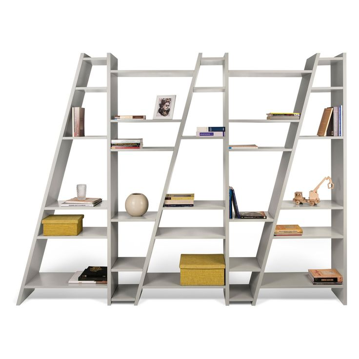 Tema Furniture Delta Composition Transitional Bookcase - 9500.315411