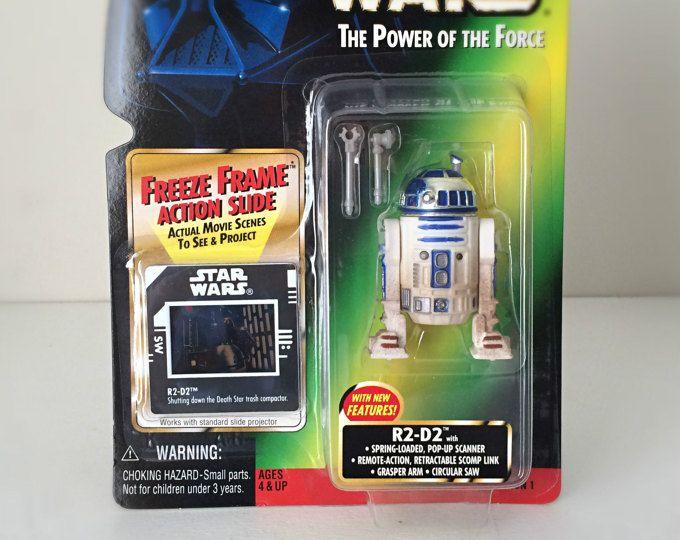Star Wars R2-D2 Action Figure, R2D2 Toy Original Trilogy Star Wars Gift, The Last Jedi, Robot Droid Kids Toy #ad