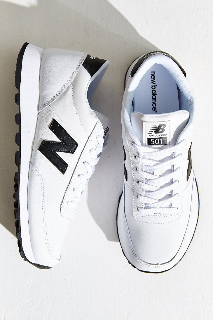 New Balance Leather Running Sneaker - Urban Outfitters