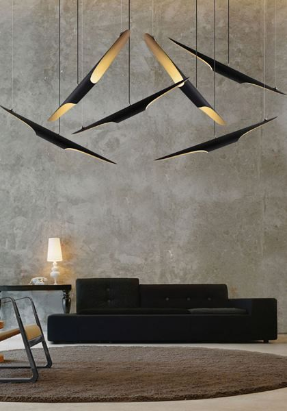 Coltrane suspension lamps from Delightfull