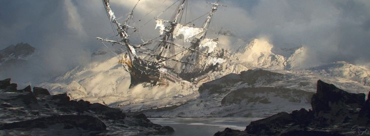 Ship Wrecked. by Simranjeet Singh from Sheridan College via @therookiesco
