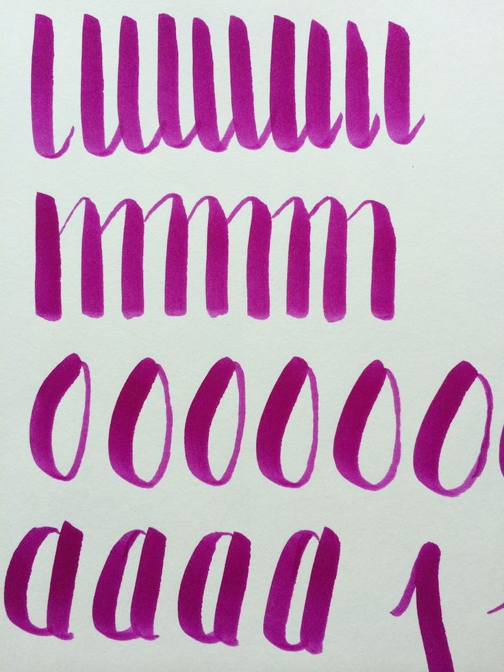 Here's how to get started with brush lettering using brush tip markers via @Jnnfrcyl